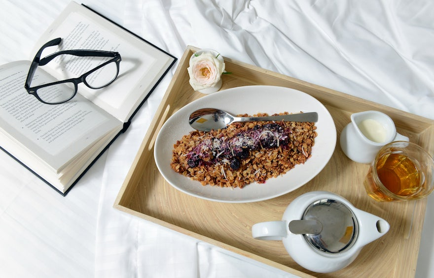 Macquarie Waters Boutique Hotel Breakfast in Bed