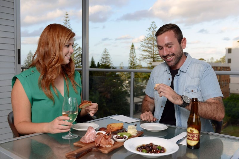 Two Bedroom Apartment Balcony at Port Macquarie