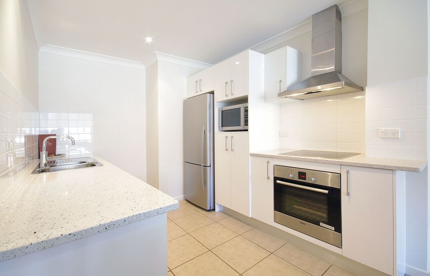 Port Macquarie Boutique Apartment Kitchen