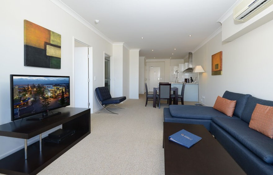 Boutique Apartment Port Macquarie Living Area