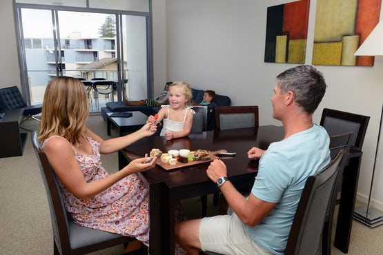 A family escape to port Douglas deserves the best accommodation