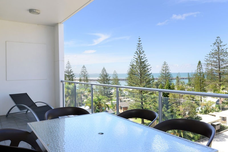 View from Balcony of Three Bedroom Apartment in Port Macquarie