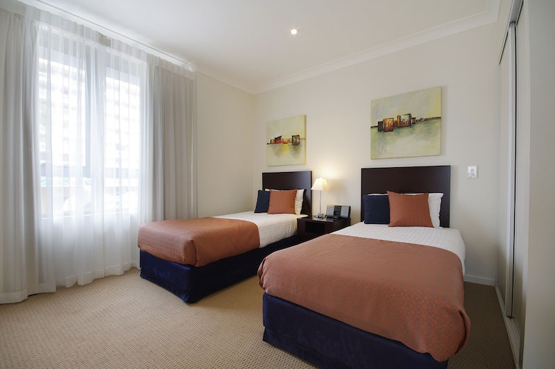 Two bedroom family accommodation in Port Macquarie