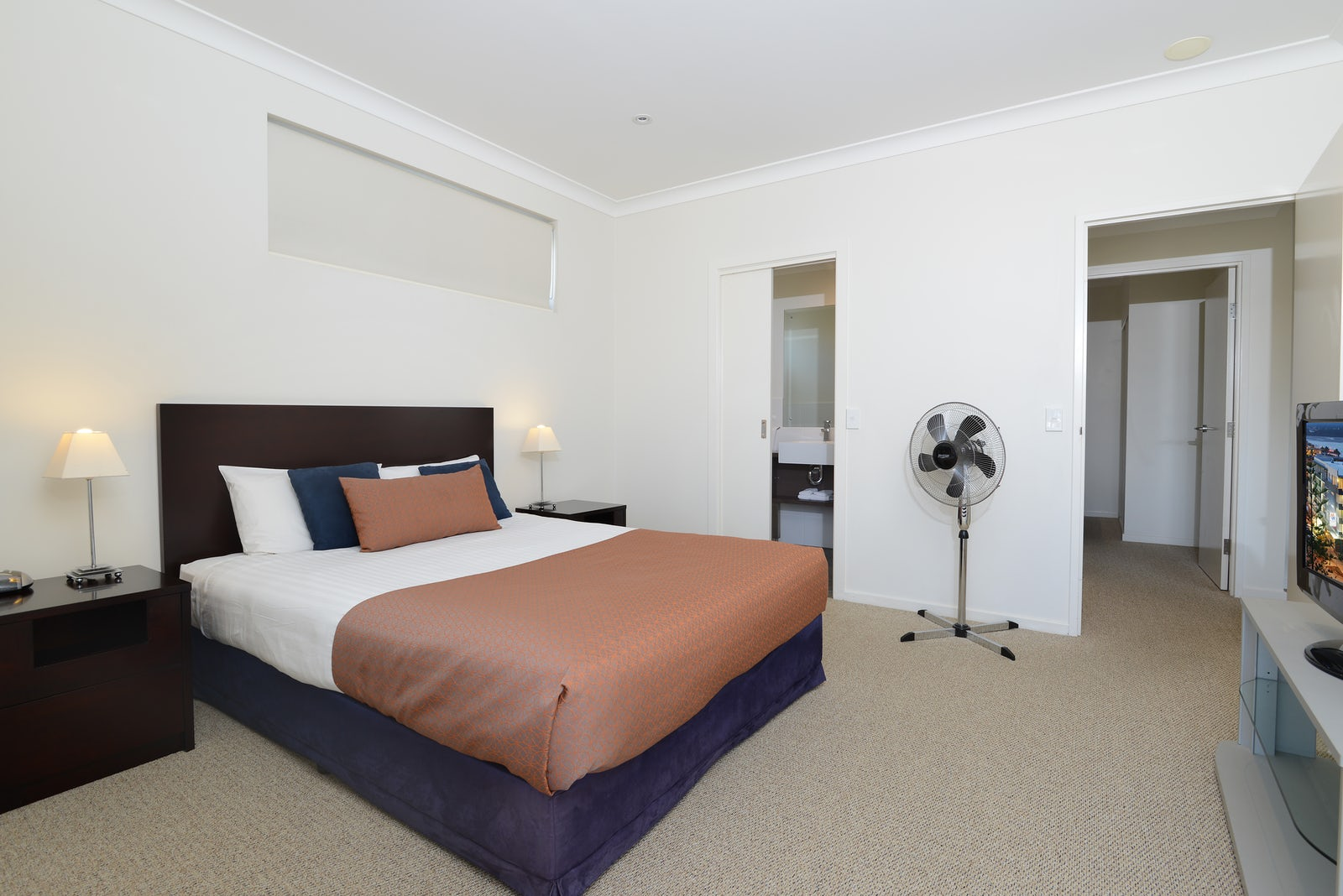 Port Macquarie Two Bedroom Apartment Fan at Macquarie Waters Hotel