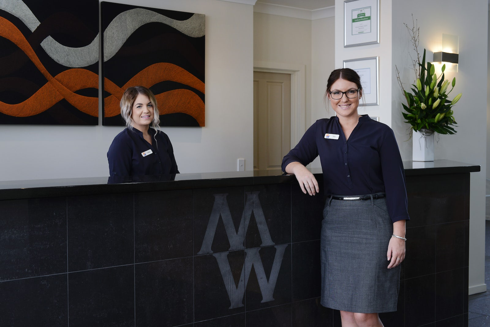 Macquarie Waters Boutique Hotel Reception