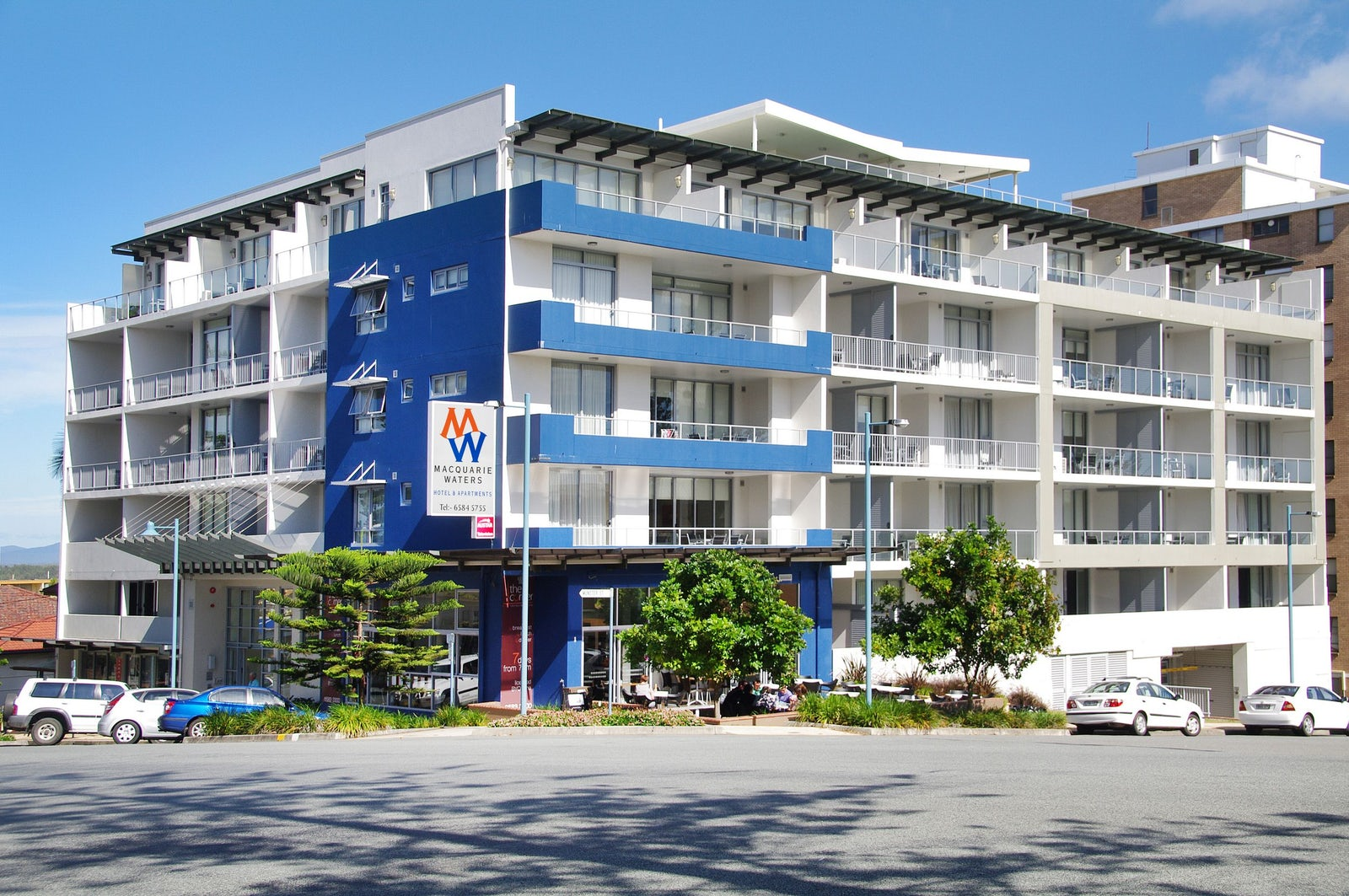 Macquarie Waters Boutique Hotel Port Macquarie Accommodation Street View