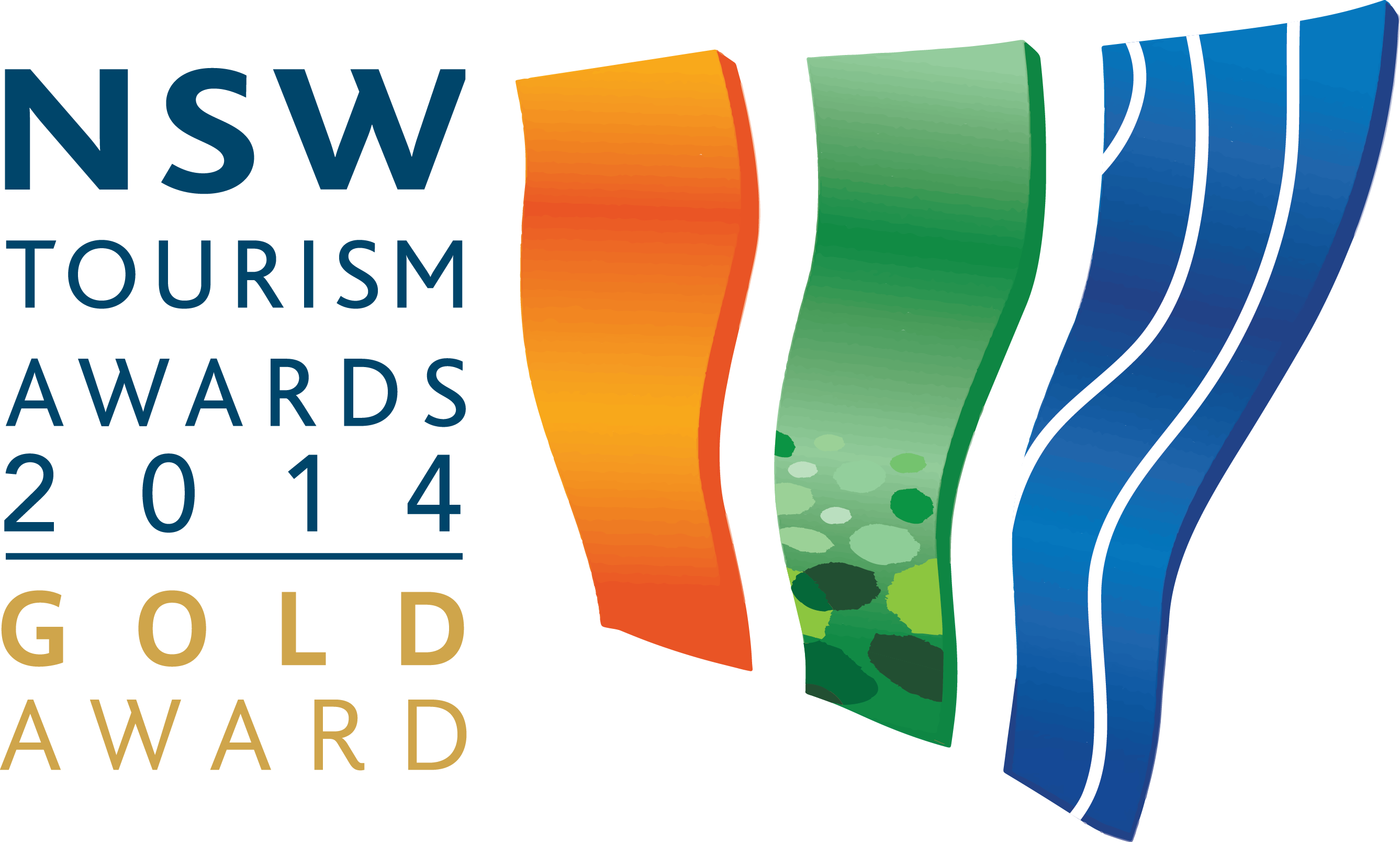 NSW Tourism Gold Award 2014