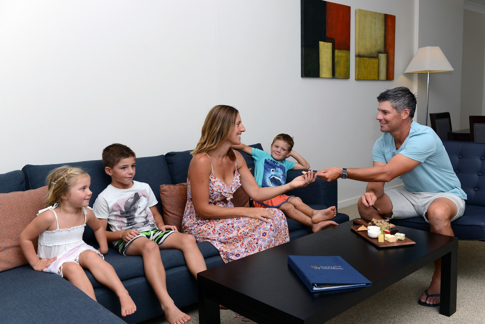 Port Macquarie Family Suite Apartments at Macquarie Waters Hotel