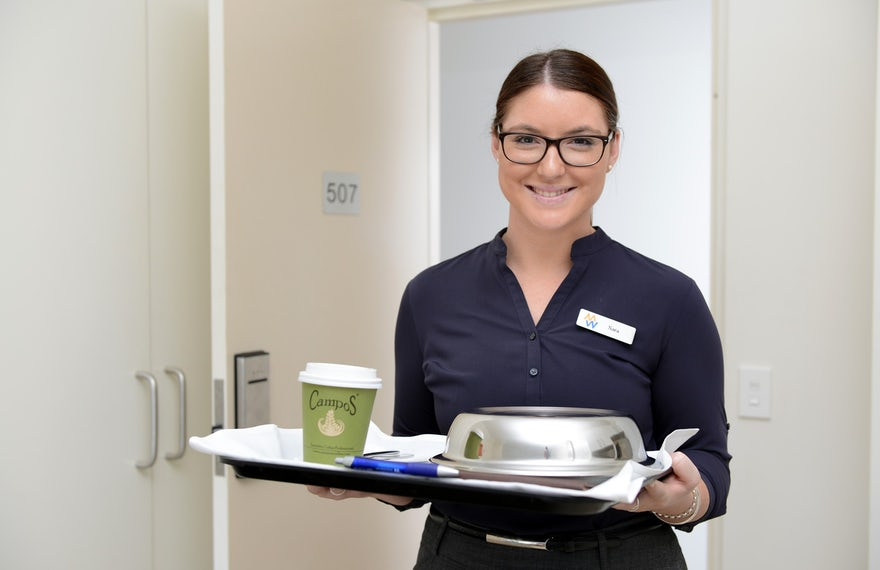 Hotel with room service in Port Macquarie