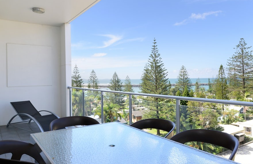 Two Bedroom Apartment Port Macquarie View from Balcony