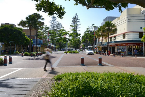 Port Macquarie Town Centre Intersection