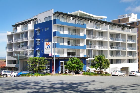 Port Macquarie accommodation Macqauarie waters hotel front exterior