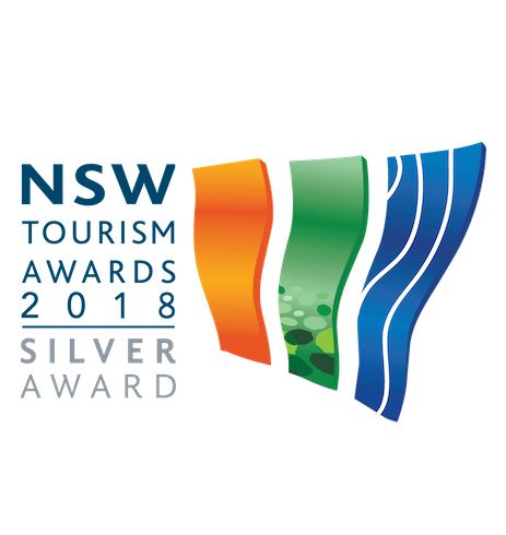 NSW Tourism Award 2018 Silver Award