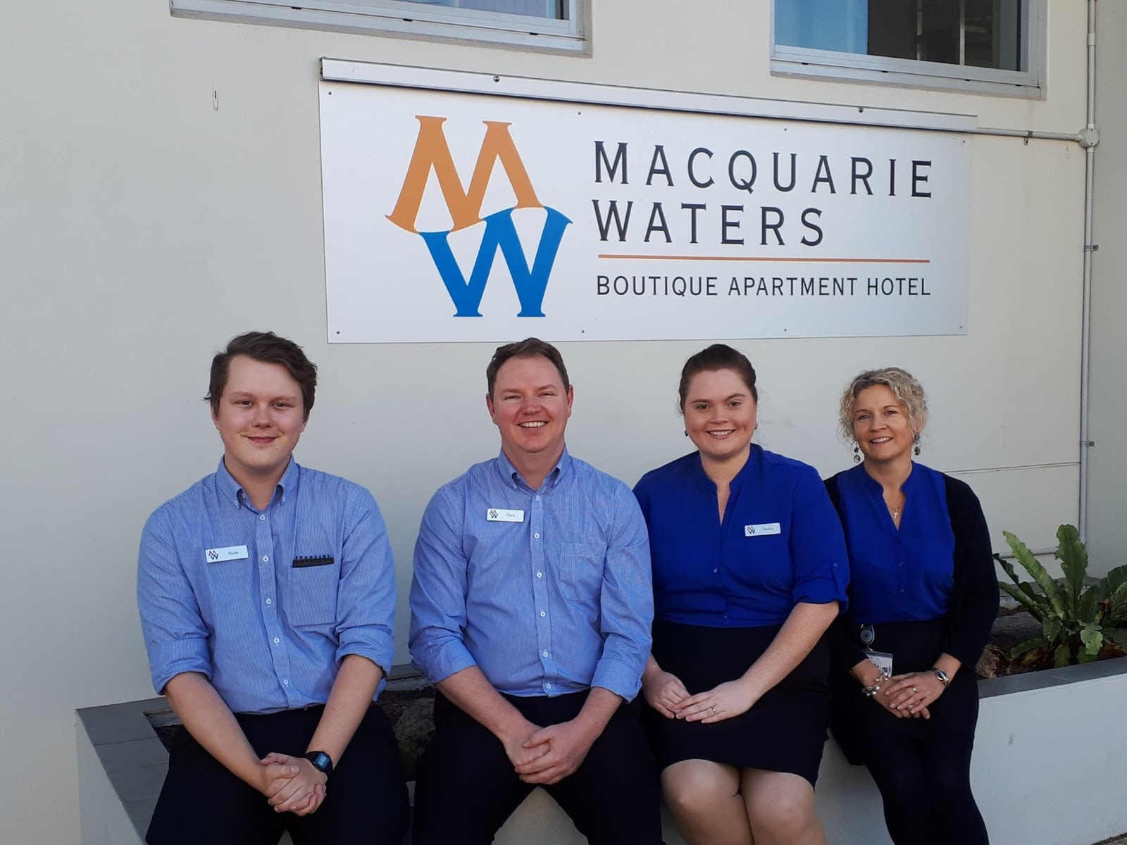 Macquarie Waters Apartment Staff