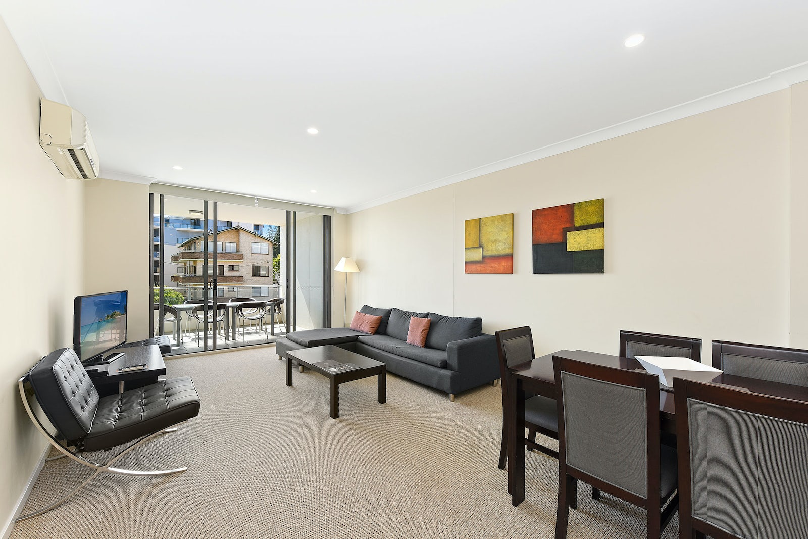 Macquarie Waters Apartment Living Room 2