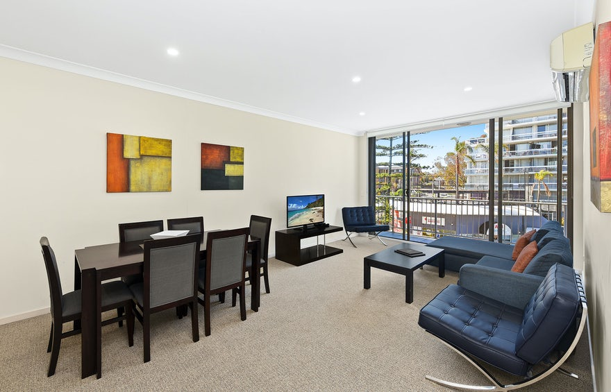 Macquarie Waters Apartment Living Room 3